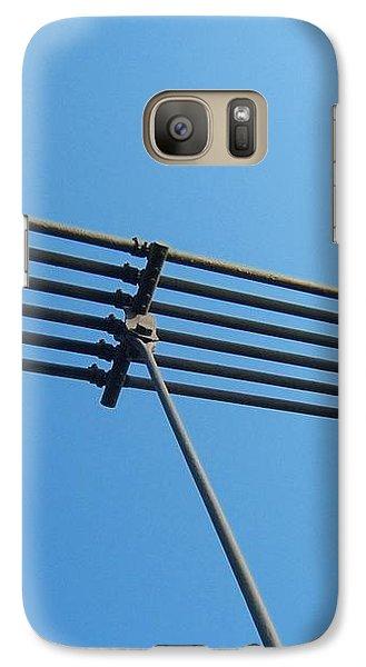Galaxy S7 Case featuring the photograph Tendu Sur Le Ciel by Marc Philippe Joly