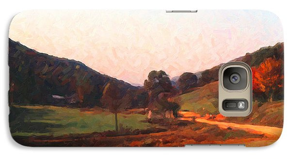Galaxy Case featuring the digital art Tennessee Road by Spyder Webb