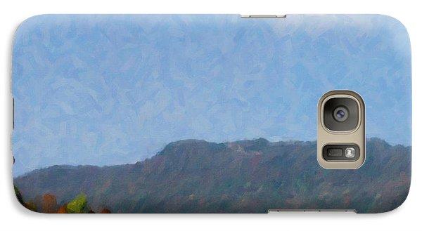 Galaxy Case featuring the digital art Tennessee Stud by Spyder Webb