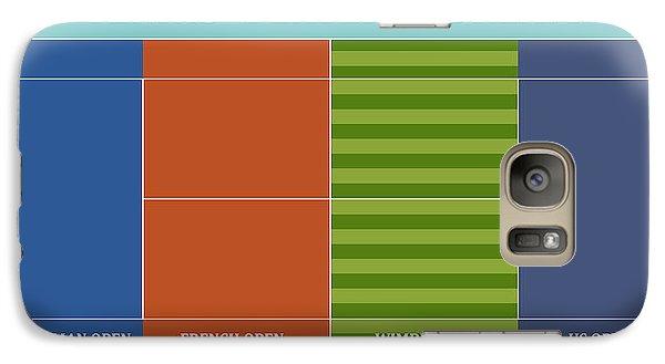Tennis Player-s Dream Galaxy S7 Case