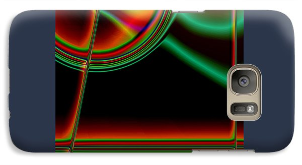 Galaxy Case featuring the digital art Tension by Martina  Rathgens
