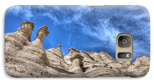 Galaxy Case featuring the photograph Tent Rocks No. 1 by Dave Garner