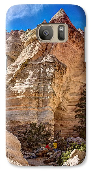 Galaxy Case featuring the photograph Tent Rocks No. 2 by Dave Garner