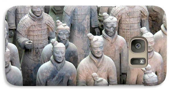 Galaxy Case featuring the photograph Terracotta Warriors by Kay Gilley