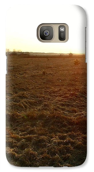 Galaxy S7 Case featuring the photograph Terre Dormante by Marc Philippe Joly