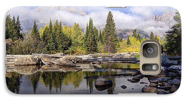 Galaxy Case featuring the photograph Teton Autumn by Jeremy Farnsworth