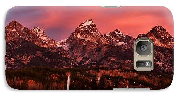Galaxy Case featuring the photograph Teton Color by Benjamin Yeager