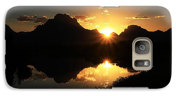 Galaxy Case featuring the photograph Teton Double Star by Clare VanderVeen