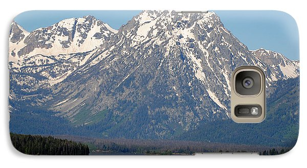 Galaxy Case featuring the photograph Teton Lake by Robert  Moss