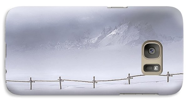 Galaxy Case featuring the photograph Teton Morning by Priscilla Burgers