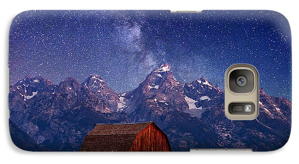 Teton Nights Galaxy S7 Case