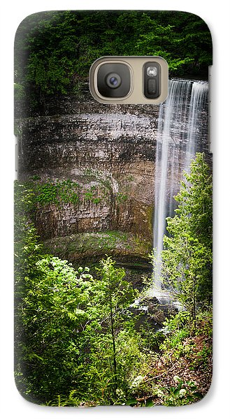 Galaxy Case featuring the photograph Tews Falls - 01 by Anthony Rego