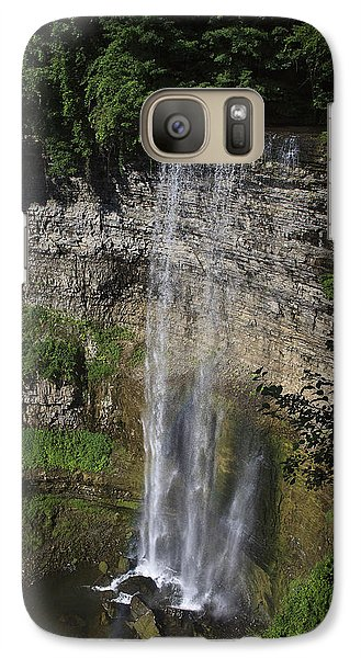 Galaxy Case featuring the photograph Tews Falls by Gary Hall