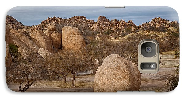 Galaxy Case featuring the photograph Texas Canyon In Arizona by Beverly Parks