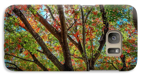 Galaxy Case featuring the photograph Texas Fall Glory by Ross Henton