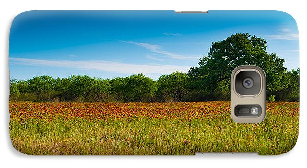 Galaxy Case featuring the photograph Texas Hill Country Meadow by Darryl Dalton