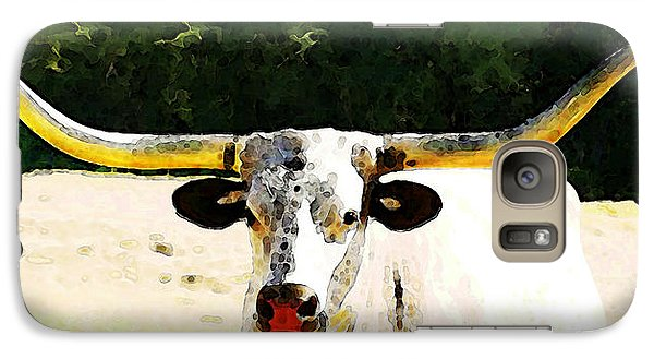Texas Longhorn - Bull Cow Galaxy S7 Case
