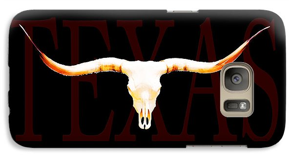 Texas Longhorns By Sharon Cummings Galaxy S7 Case