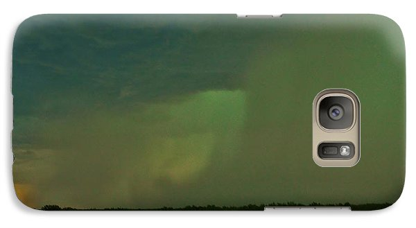 Galaxy Case featuring the photograph Texas Microburst by Ed Sweeney