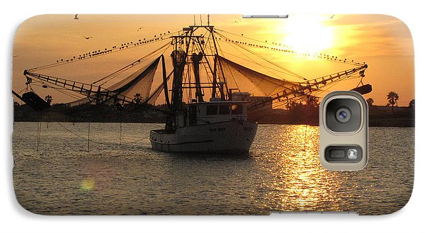 Galaxy Case featuring the photograph Texas Shrimp Boat  by Jimmie Bartlett