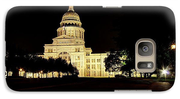 Galaxy Case featuring the photograph Texas State Capitol by Dave Files