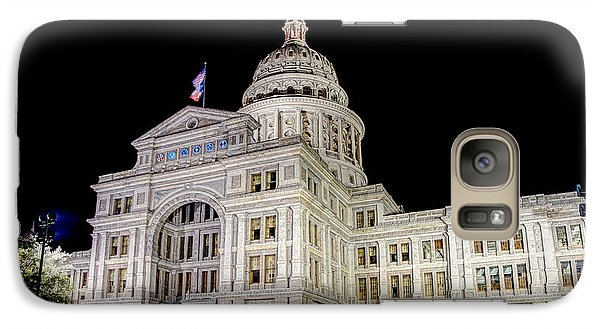 Galaxy Case featuring the photograph Texas State Capitol by Tim Stanley