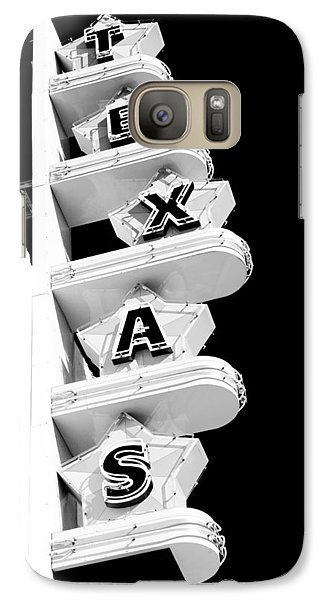 Galaxy Case featuring the photograph Texas Theater by Darryl Dalton