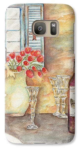 Galaxy Case featuring the painting Texas Wine by Tamyra Crossley