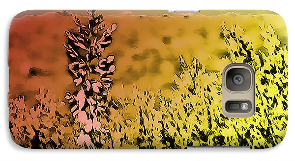 Galaxy Case featuring the photograph Texas Yucca Flower by Bartz Johnson
