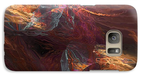 Galaxy Case featuring the digital art Texture Splash by Margie Chapman