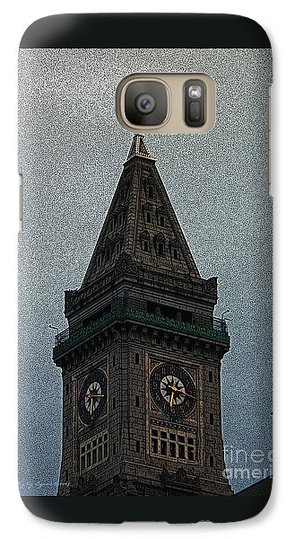 Galaxy Case featuring the photograph Textured Church Steeple  by Gena Weiser