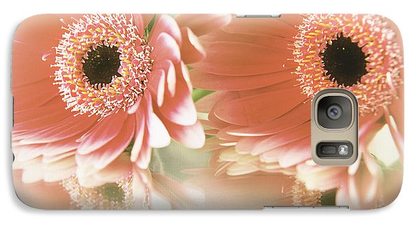 Galaxy Case featuring the photograph Textured Floral Artwork by Eden Baed