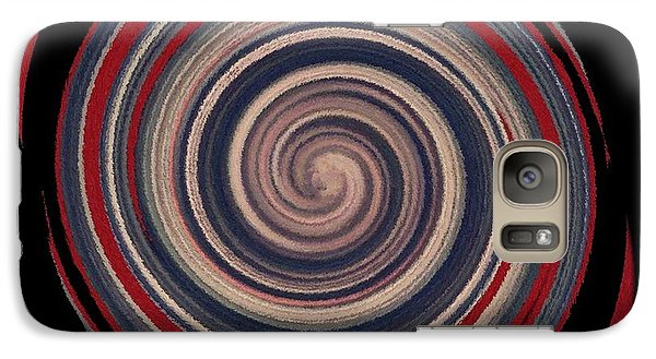 Galaxy Case featuring the digital art Textured Matt Finish by Catherine Lott