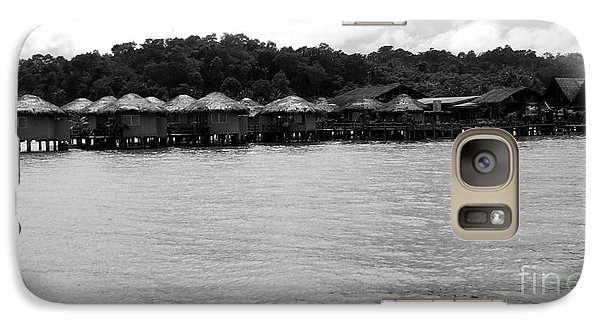 Galaxy Case featuring the photograph Thai Village by Andrea Anderegg