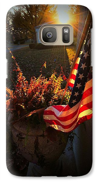 Galaxy Case featuring the photograph Thank You For Serving by Robert McCubbin