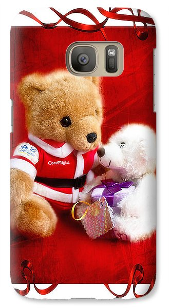 Galaxy Case featuring the photograph Thank You Santa 01 by Kevin Chippindall