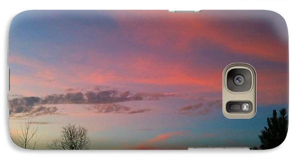 Galaxy Case featuring the photograph Thankful For The Day by Linda Bailey