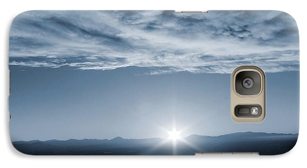 Galaxy Case featuring the photograph Thanksgiving Sunrise Mount Soledad  by Jeremy McKay