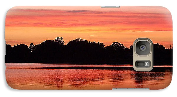 Galaxy Case featuring the photograph Thanksgiving Evening 001 by Chris Mercer