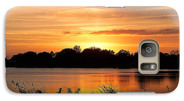 Galaxy Case featuring the photograph Thanksgiving Evening by Chris Mercer