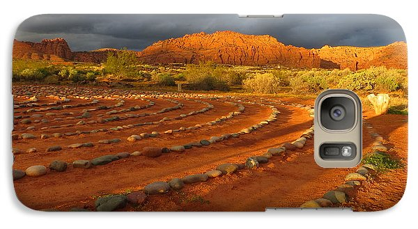 Galaxy Case featuring the photograph St George, Utah by Jean Marie Maggi