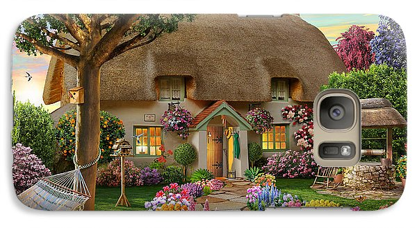 Thatched Cottage Galaxy S7 Case by Adrian Chesterman