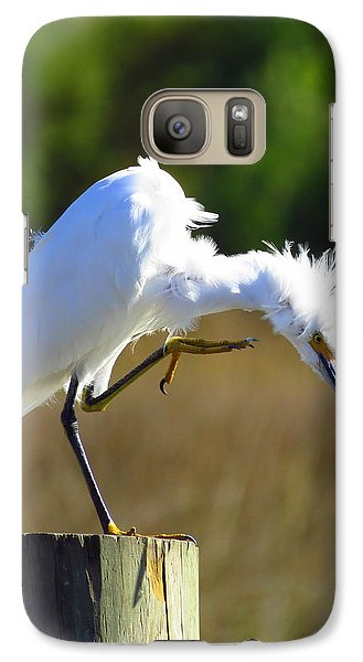 Galaxy Case featuring the photograph Thats The Spot by Phyllis Beiser