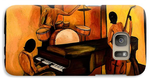 Jazz Galaxy S7 Case - The 1st Jazz Trio by Larry Martin