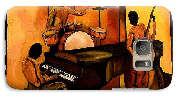 The 1st Jazz Trio Galaxy S7 Case by Larry Martin