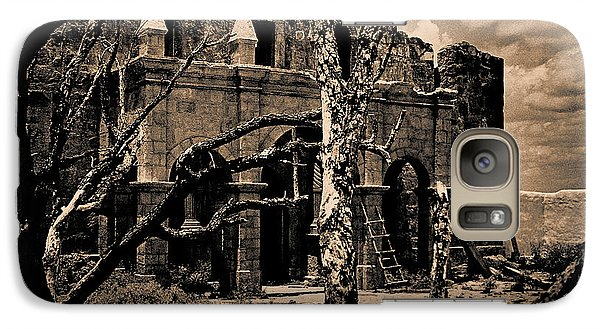 Galaxy Case featuring the photograph The Alamo After The Battle  by Travis Burgess
