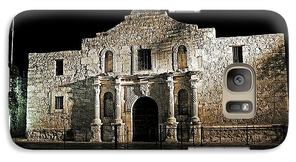 Galaxy Case featuring the photograph The Alamo by Andy Crawford