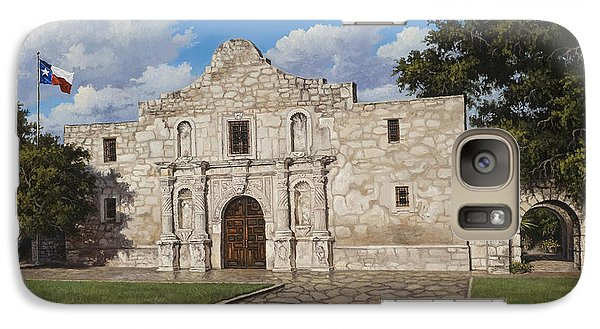 Galaxy Case featuring the painting The Alamo by Kyle Wood