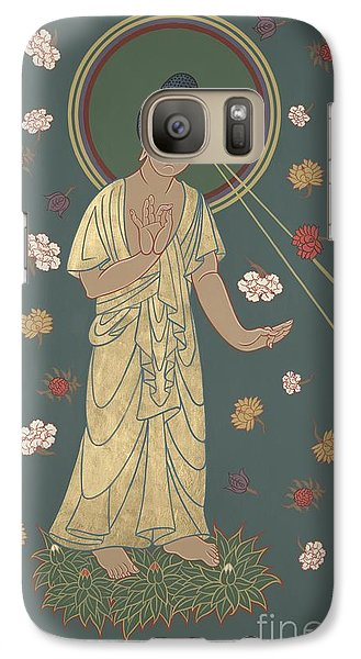 Galaxy Case featuring the painting The Amitabha Buddha Descending 247 by William Hart McNichols