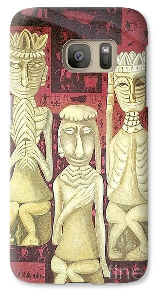 Galaxy Case featuring the painting The Ancient Wedding by Fei A